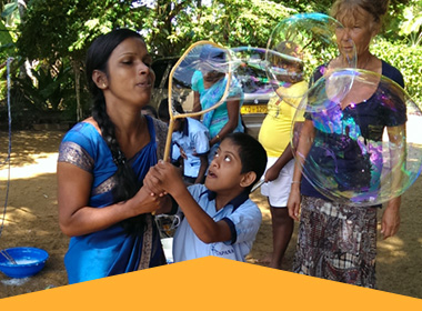 Erlebnispädagogik in Sri Lanka